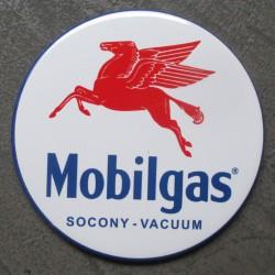 magnet 7.5 cm  huile mobilgas  pégase essence deco garage cuisine bar diner loft frigo