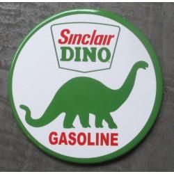 magnet 7.5 cm sinclair dino gasoline  deco garage cuisine bar diner loft frigo