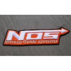 patch NOS orange nitro oxyde system écusson thermocollant pour veste blouson