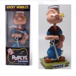figurine popeye marinavec ancre statuette bobble head