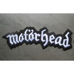 gros patch  groupe motorhead inscription 22x7 cm  ecusson dos veste blouson