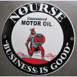 plaque alu nourse motor oil business is good tole metal garage huile pompe à essence