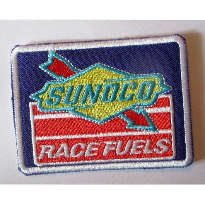 patch sunoco race fuel  huile essenc  ecusson thermocollant veste blouson huile