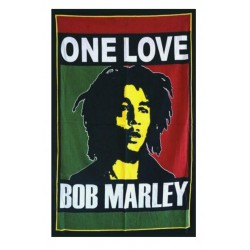 drapeau bob marley one love150x90 nylon reggae music