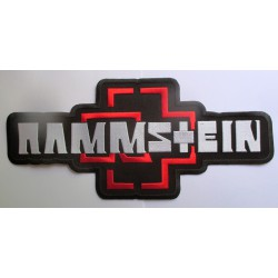 gros patch du groupe ramstein 32cm ecusson thermocollant groupe rock roll