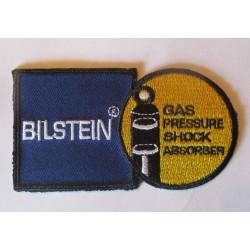 patch  amortisseur bilstein  bleu jaune ecusson veste blouson huile