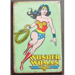 magnet 8x5.5 cm wonder woman super heroine deco garage cuisine bar diner loft frigo