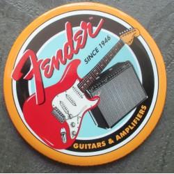 magnet 7.5 cm  guitare et ampli fender deco musique cuisine bar diner loft frigo