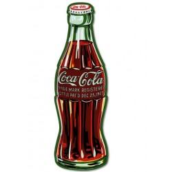 grande plaque bouteille decoca cola 90x27 cm tole metal bar restaurant diner loft
