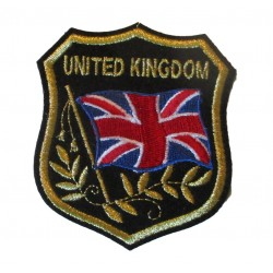patch blason united kingdom ecusson thermocolant angleterre