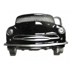 boucle de ceinture mercury de face noire voiture US  homme femme