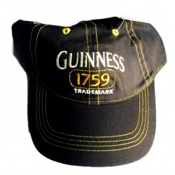 casquette guinness noire dublin ireland bire beer 1759