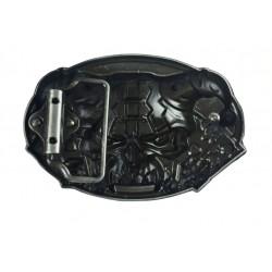 boucle de ceinture méchanic  doré  bougie  clé cliquet tournevis homme mécano