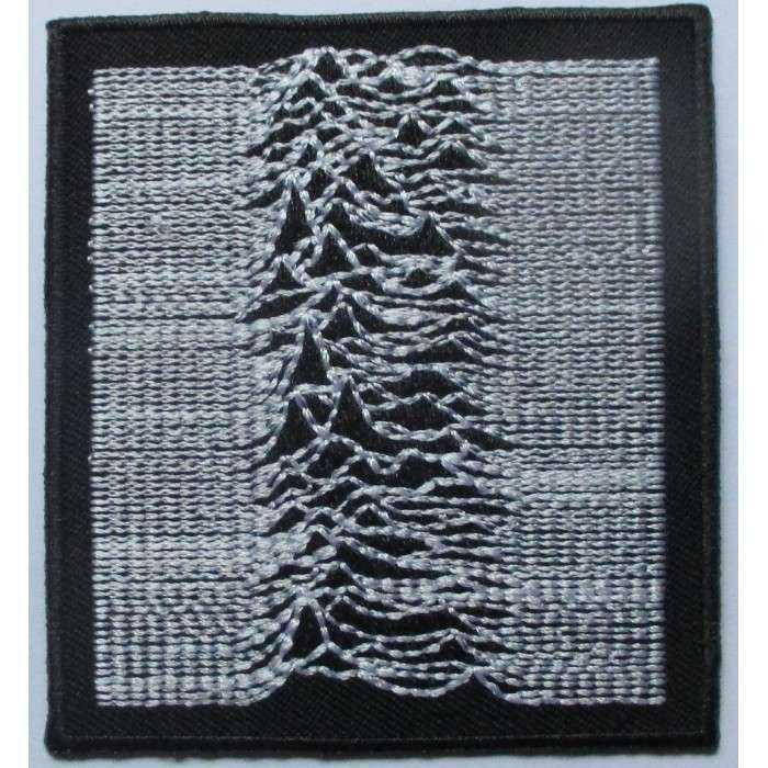 patch  joy division pochette disque 7.5cm  ecusson thermocollant fan rock roll