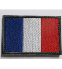 patch  velcro drapeau...