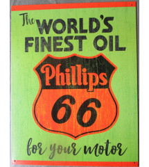 plaque phillips 66 world's...