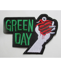 patch  groupe green day...