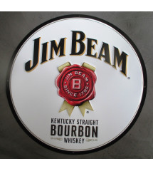 plaque bourbon jim beam...