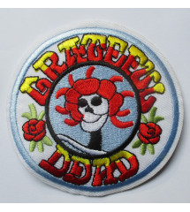patch rond groupe gratefull...