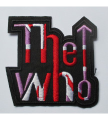patch groupe the who logo...