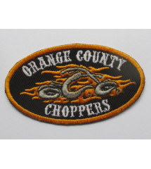 patch logo OCC orange...