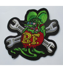 patch  rat fink et clé...