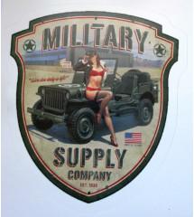sticker jeep military...