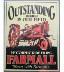 plaque tracteur farmal mc...