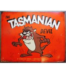 plaque taz tasmanian devil...