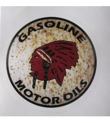 sticker indian gasoline...