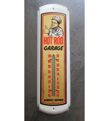 thermometre hot rod garage...
