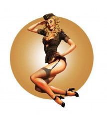 sticker extra fin pin up...