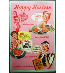 plaque happy hostess...