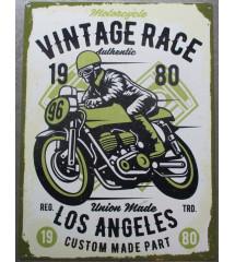 plaque vintage race los...