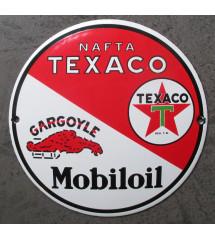 plaque email texaco mobiloil