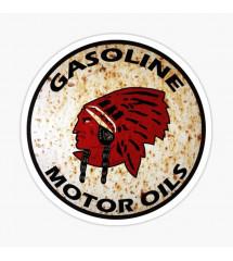 sticker gasoline motor oil