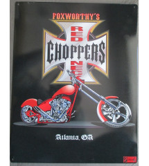 plaque red neck choppers...