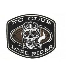 patch lone rider no club...