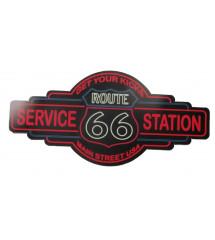sticker route 66 service...