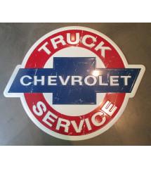 plaque chevy truck service...