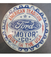 plaque ford motor co...