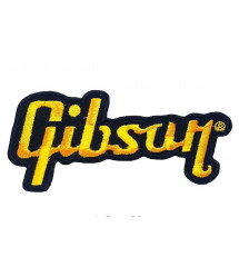 patch gibson guitare noir...