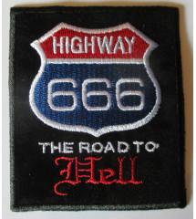 patch highway 666 the road...