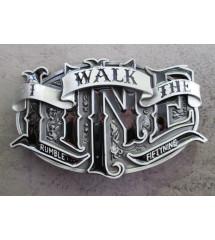 boucle ceinture i walk the line  rumble59  johnny cash