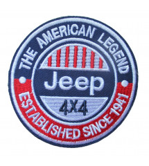 patch jeep 4x4 american legend