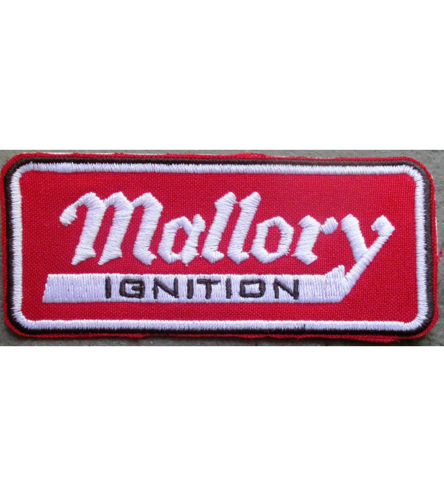 patch mallory ignition rouge