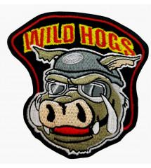 patch wild hogs , biker motard