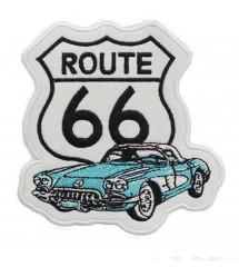 patch route 66 et corvette...
