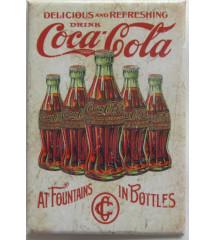 magnet 8x5.5 cm coca cola...