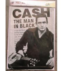 carte postal  johnny cash...